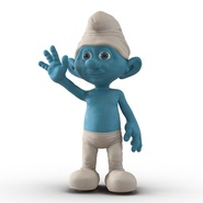 Smurf Rigged for Maya. Preview 5