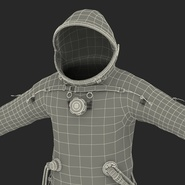 Russian Space Suit Sokol KV2 Rigged. Preview 66