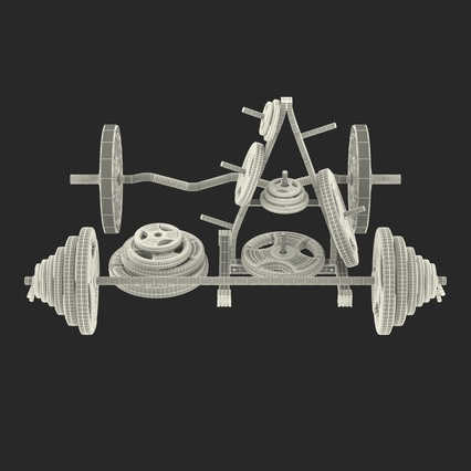 Barbells Collection 2. Render 56