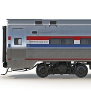 Railroad Amtrak Passenger Car 2. Preview 31