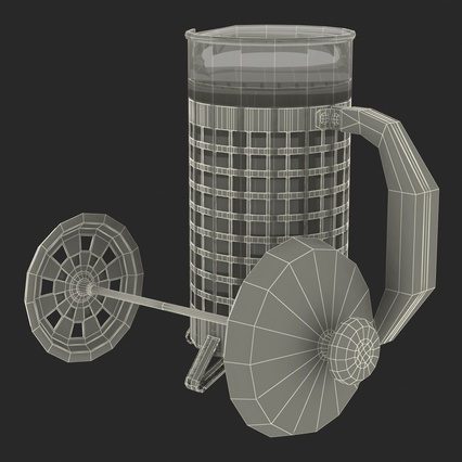 French Press. Render 44