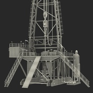 Fracking Gas Platform. Preview 47