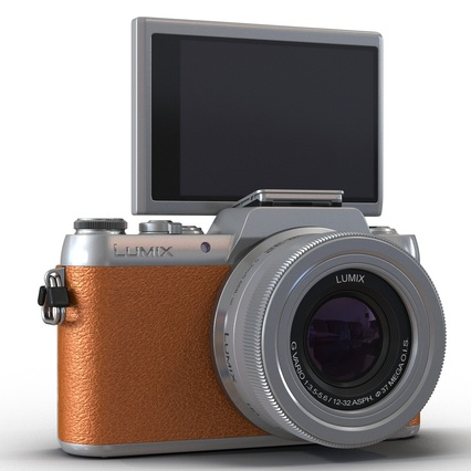 Panasonic DMC GF7 Brown. Render 17