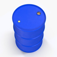 Oil Drum 200l Blue. Preview 6