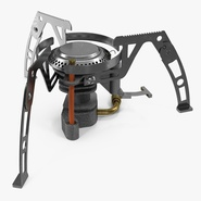 Folding Portable Camping Gas Stove. Preview 2