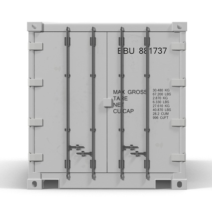 ISO Refrigerated Container. Render 11