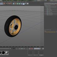 Sport Motorcycle Back Wheel. Preview 13