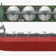 Gas Carrier Ship. Preview 7
