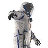 Russian Space Suit Sokol KV2 Rigged. Preview 27