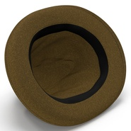 Fedora Hat Brown. Preview 17