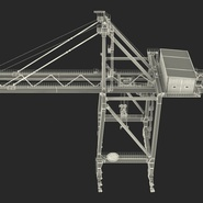 Container Crane Blue. Preview 39