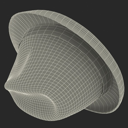 Fedora Hat Blue. Render 29