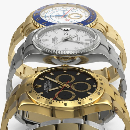 Rolex Watches Collection. Render 10