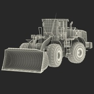 Generic Front End Loader Rigged. Preview 78