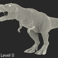 Tyrannosaurus Rex Rigged for Maya. Preview 28